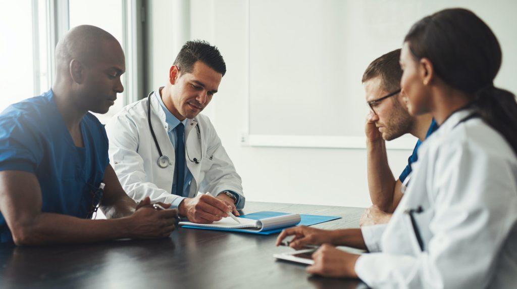 Medical personal meeting